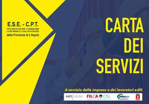 Carta dei Servizi – ESE-CPT L'Aquila