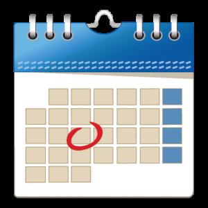 calendario con evidenza di un impegno