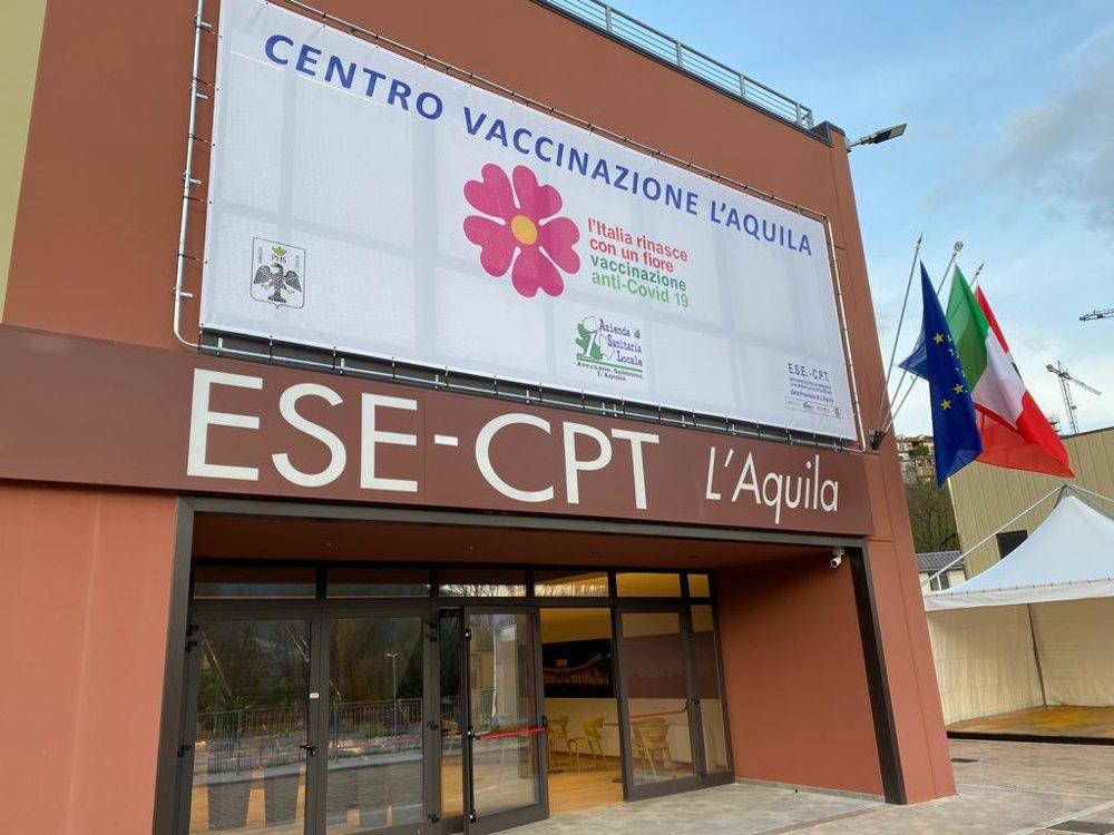 Inaugurazione Centro Vaccinazione